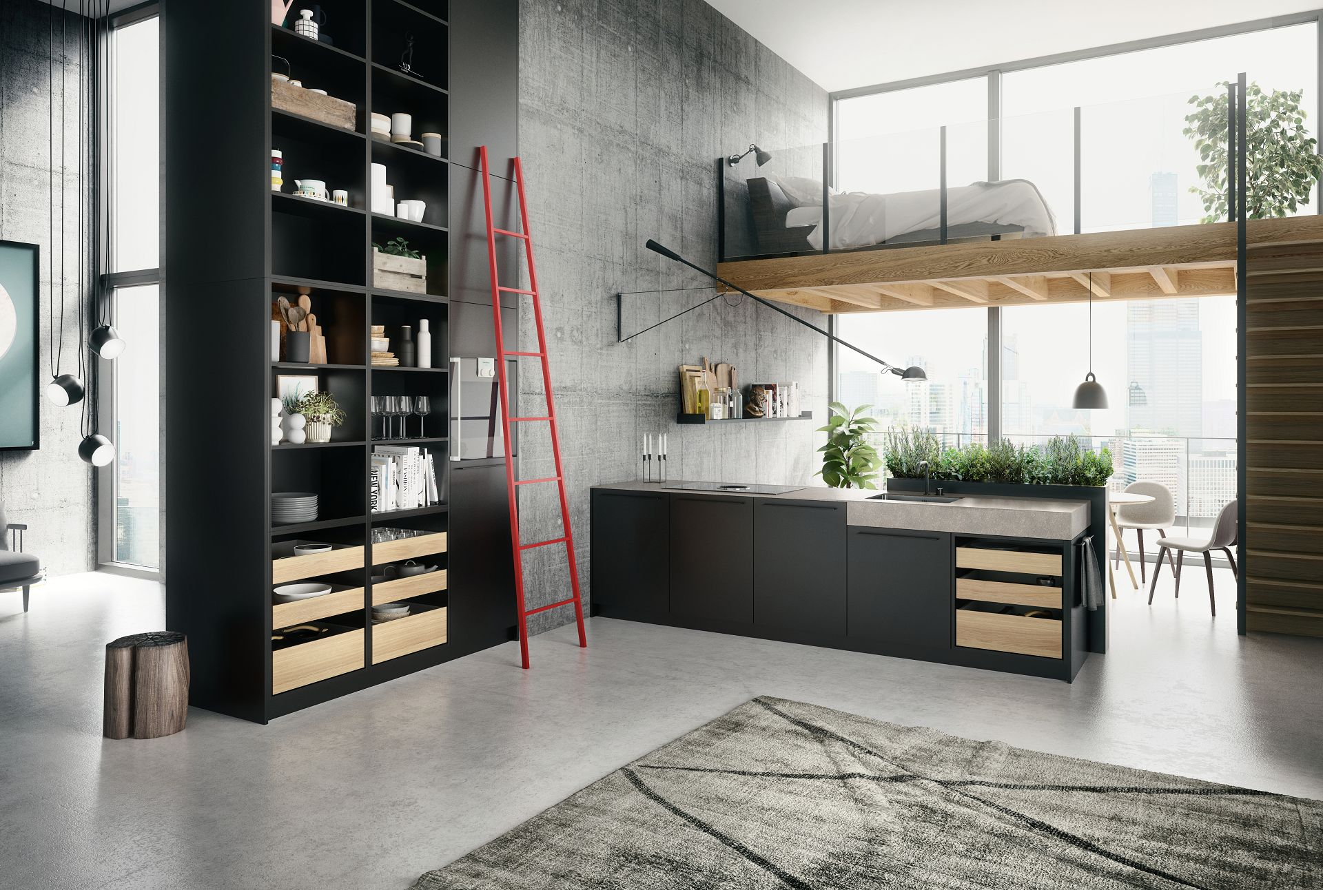 Small but Powerful Ideas for Urban Kitchen Design   SieMatic